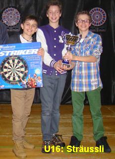 Gewinner Dartplausch 2013